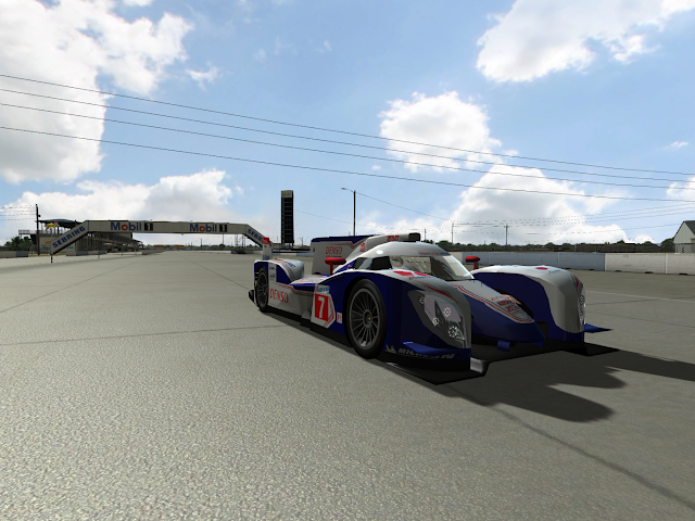 Toyota Hybrid in rFactor
