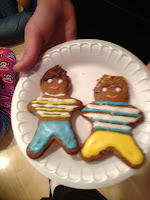 One Direction Gingerbread Men