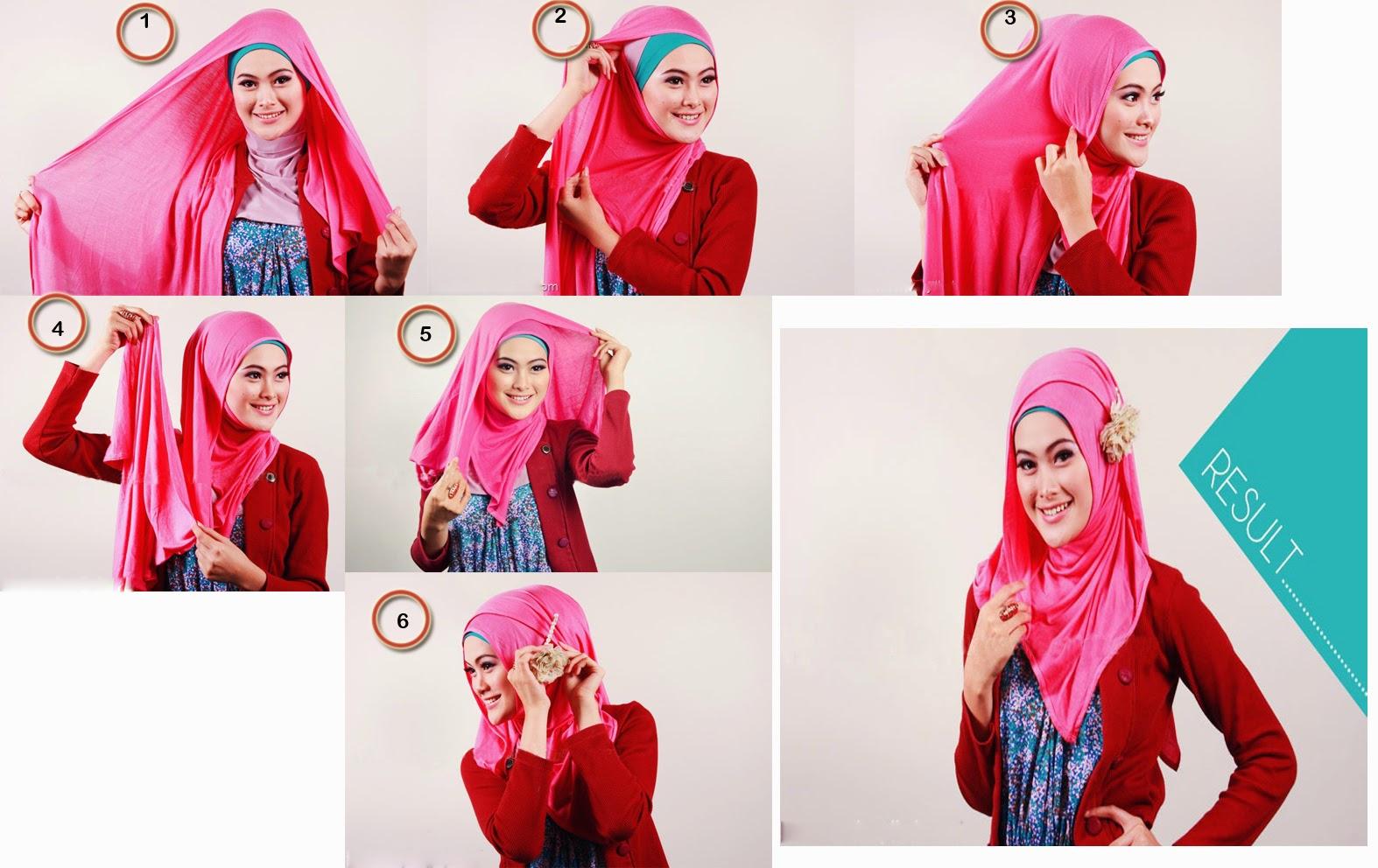 Hiijab Terbaru Belajar Memakai Hijab Images