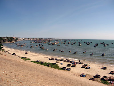 Fishing port of Mui Ne