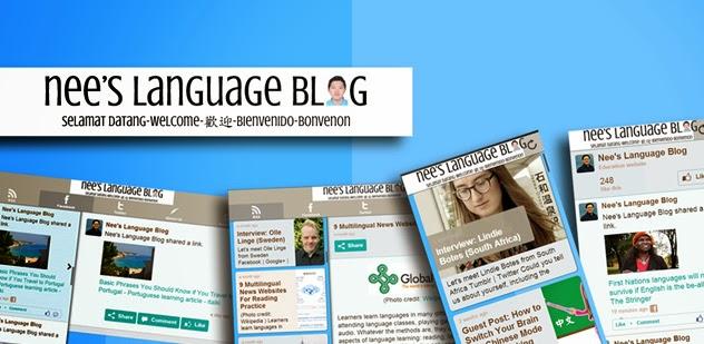 Nee's Language Blog Android App