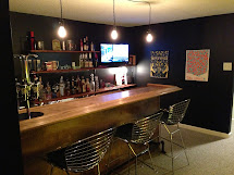 DIY Basement Bar Ideas