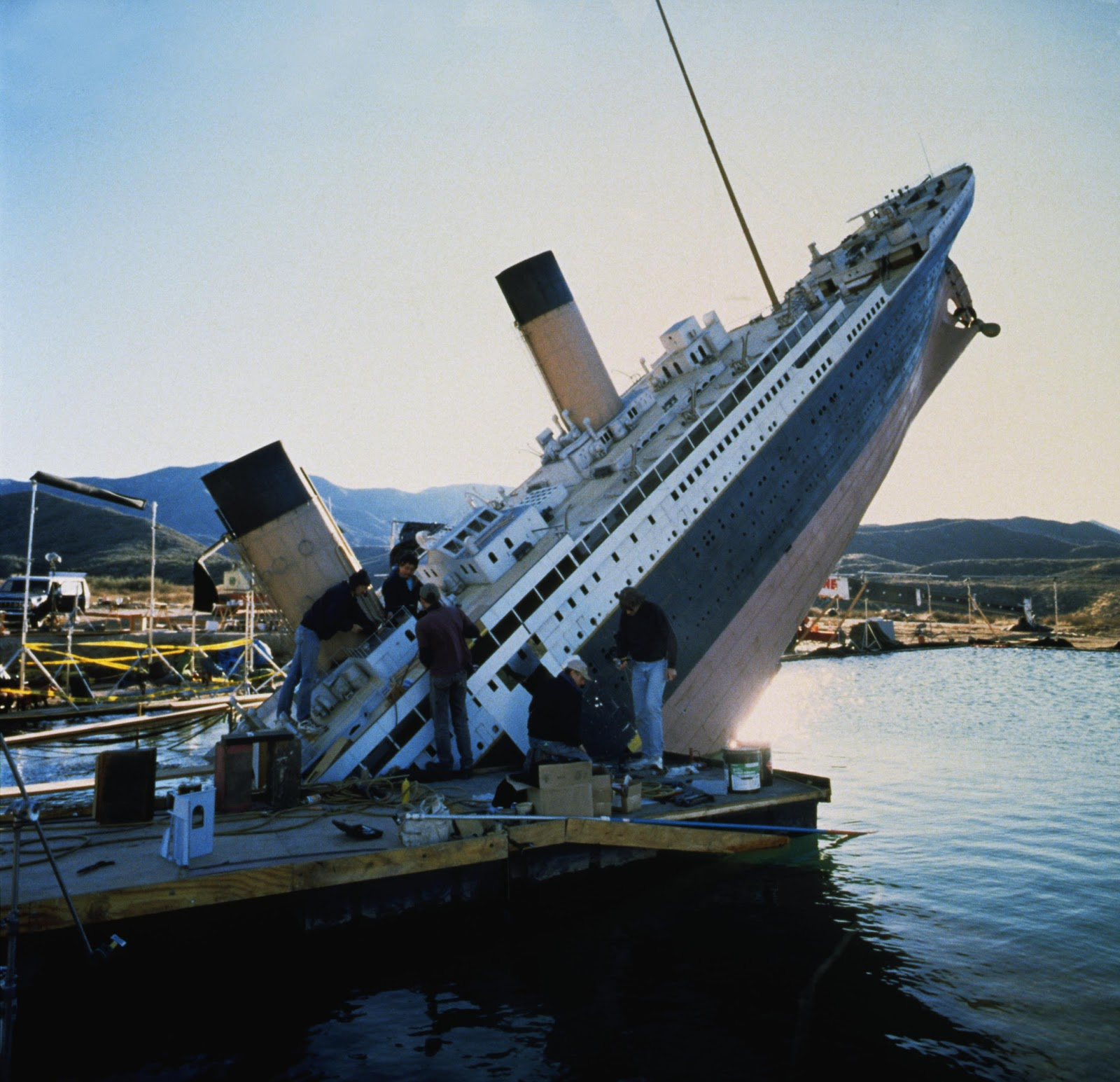 making of titanic titanic 3d