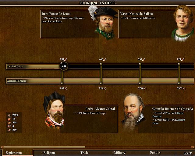 Civilization 4 Colonization - Founding Fathers Screenshot