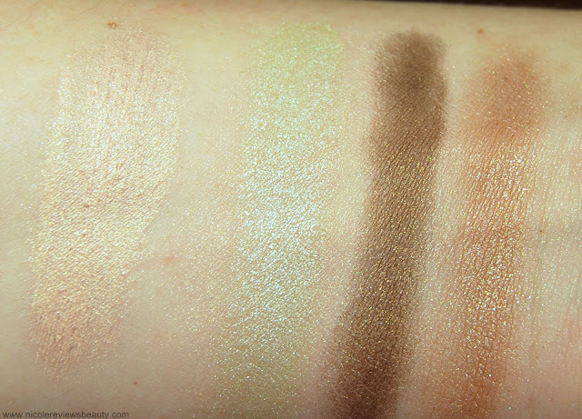 Almay Wake Up Eyeshadow and Primer in Revive Swatches