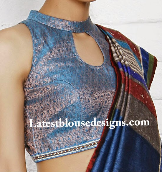 latest saree blouse designs