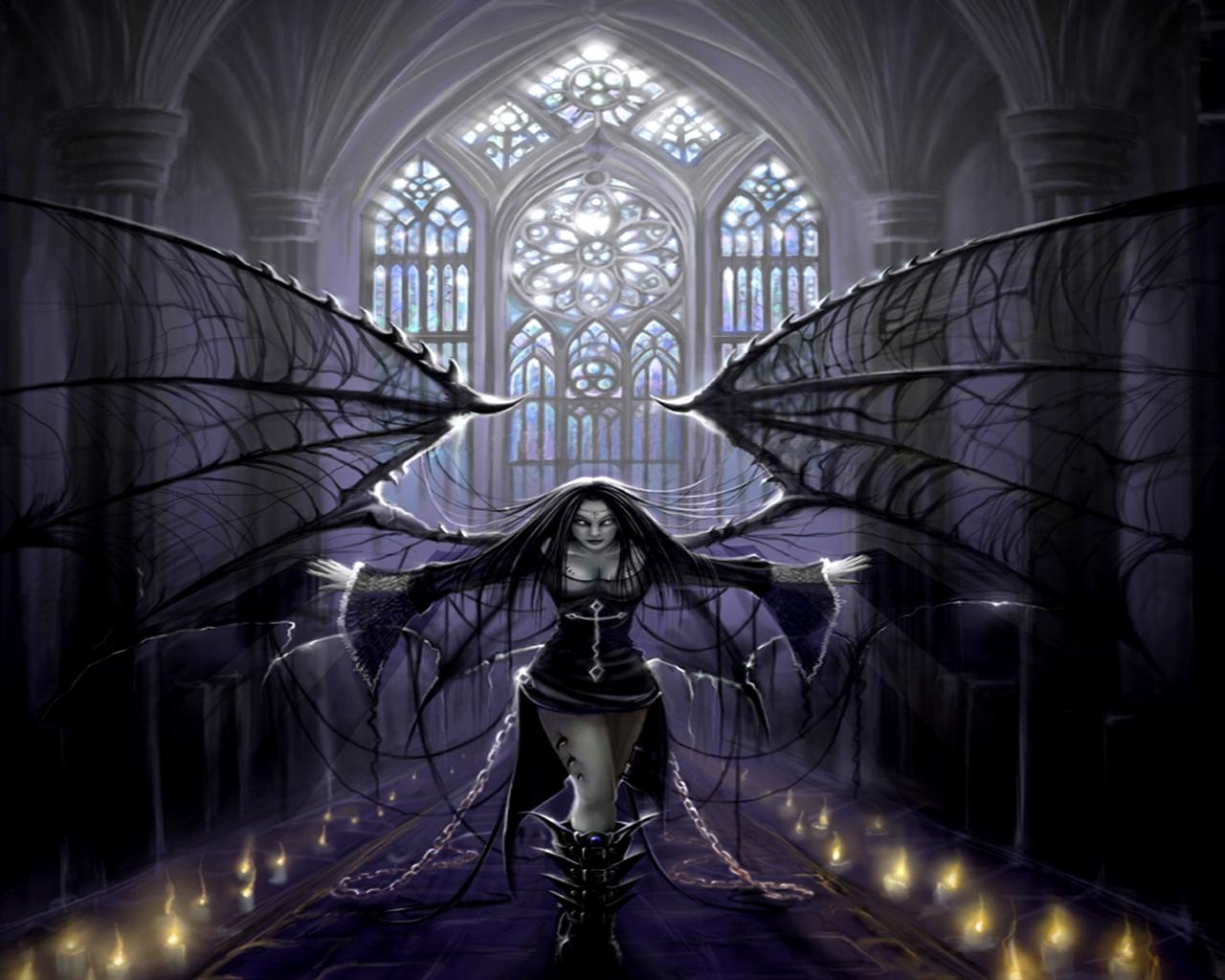 Angels wallpapers - Dark gothic angel wallpaper ...