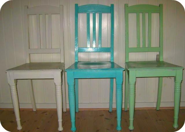 Diy se her hvordan: at spraymale gamle møbler