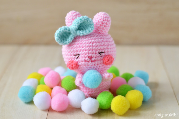 Amigurumi Easter Bunny Pattern : Hopeful Honey Craft, Crochet, Create
