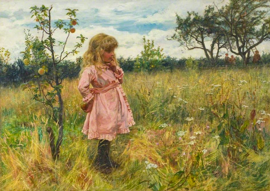 pintura eva - Frederick Morgan - Inglês