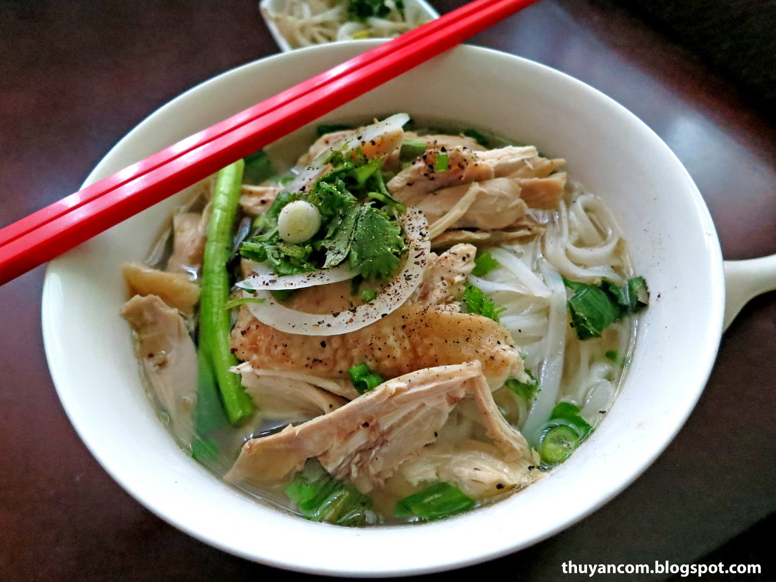 Blog of Noodles: Pho Ga - Chicken Rice Noodle Soup