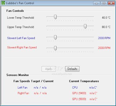 computer fan speed control software | Lubbo's Fan Control