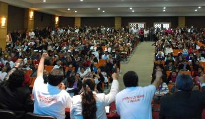 Resultado de imagen de reuniones sindicales grandes