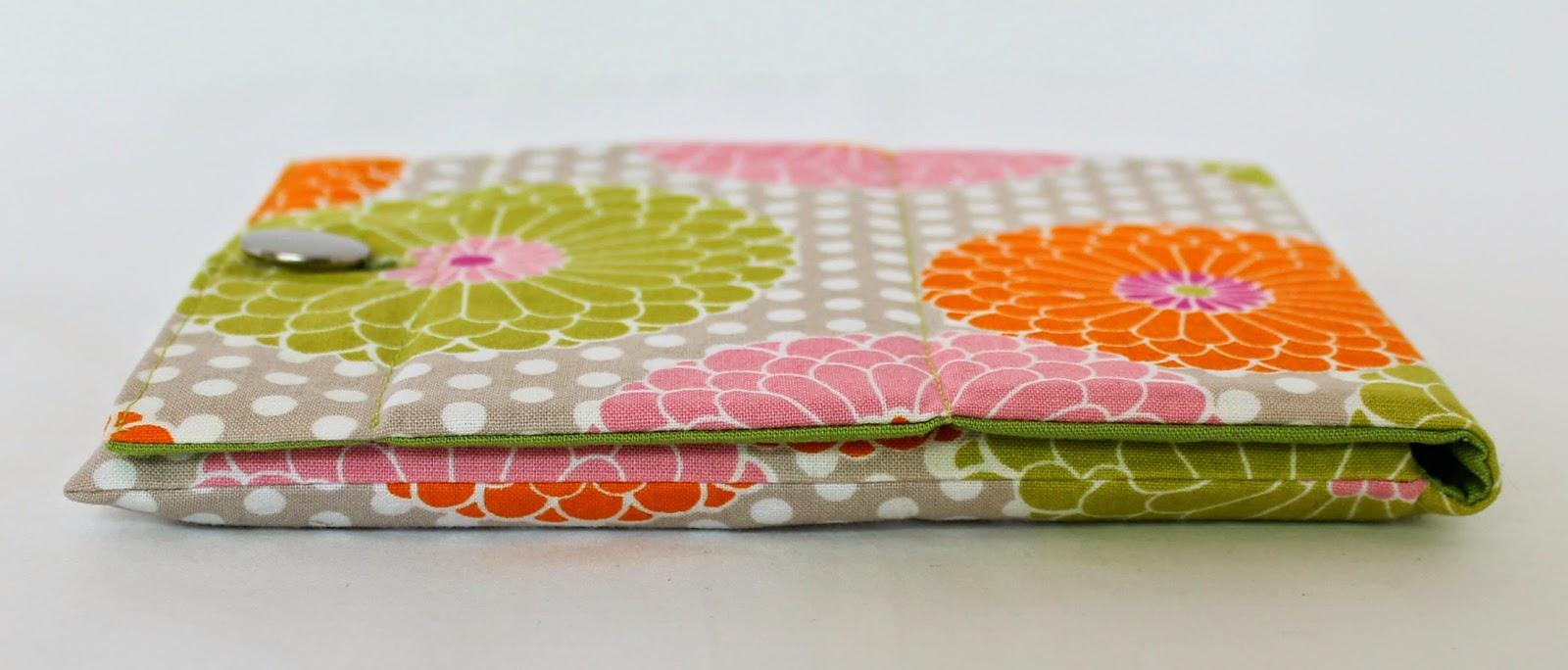 Prop-Up Tablet Case | Step-by-step directions how to sew an envelope case, custom fit to cover ANY size tablet with a prop-up stand built right into the flap. | The Inspired Wren