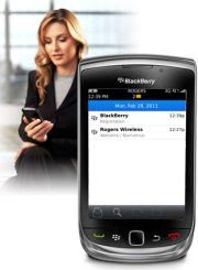 Mengenal Fitur Email di BlackBerry OS 7