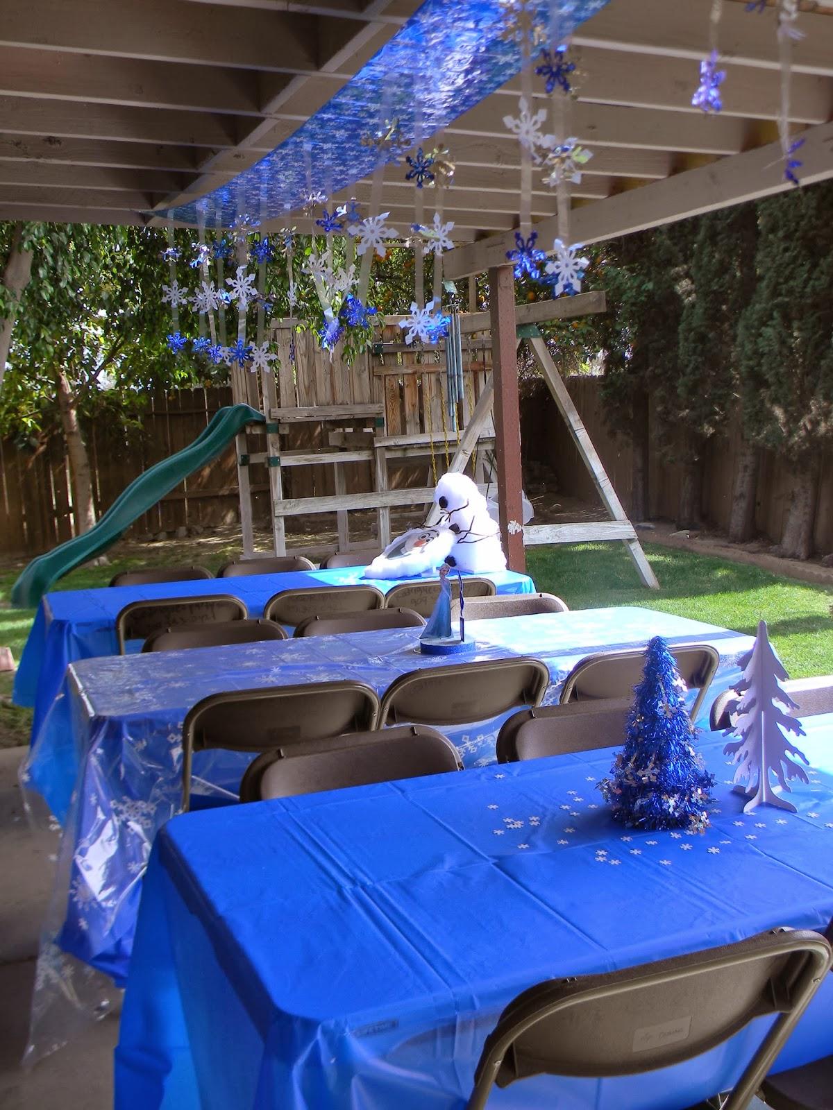 Birthday Parties Frozen Birthday Party