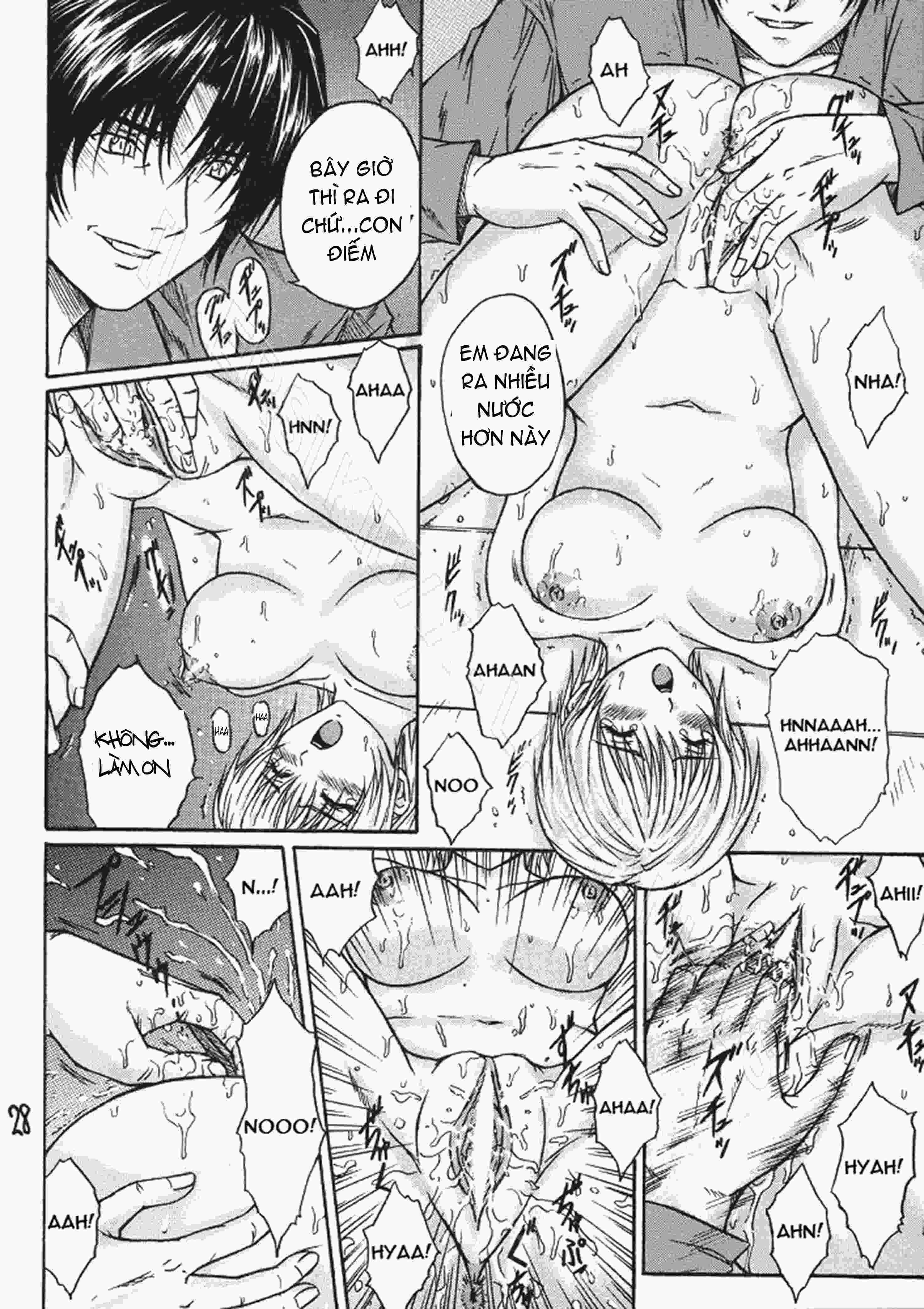 TruyenHay.Com - Ảnh 27 - Ryoujoku Rensa Chapter 3