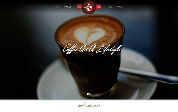 Coffee Time – HTML5 and CSS3 Cafe Bar Template