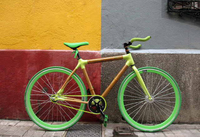 Green Pear Diaries, diseño, design, bambú, bamboo, Bambú Campos Bikes