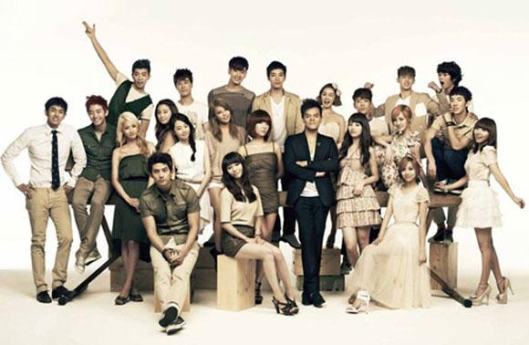 JYP Entertainment - Ngôi nhà đa văn hóa 2