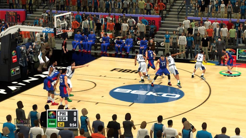 FIBA 2K14 Oceania Mod