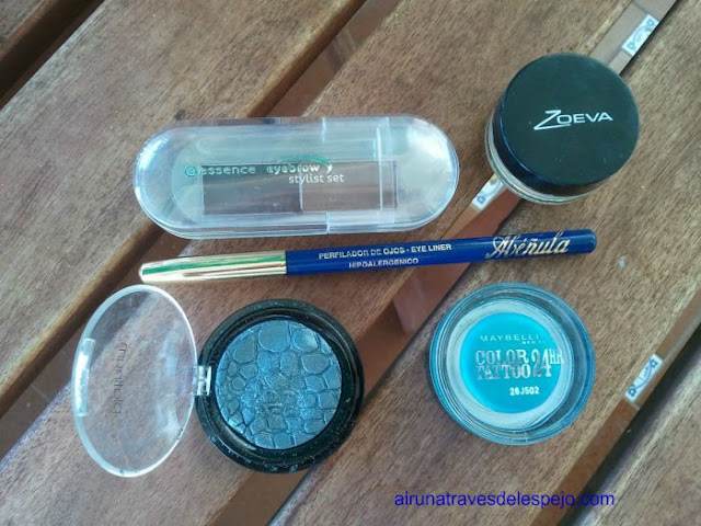 productos azul abeñula color tatto maybelline