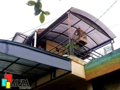 kanopi rumah lantai 2