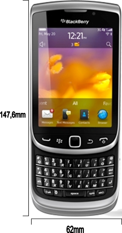 Blackberry 9810 / torch2 Spesifikasi