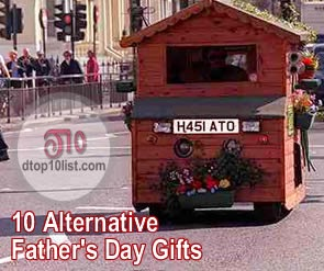 Top 10 Alternative Father's Day Gifts