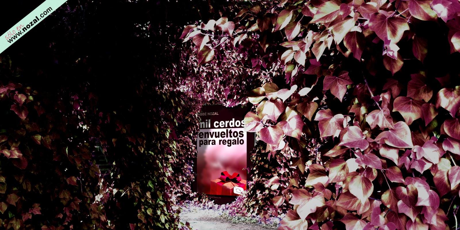 Una novela al fondo del jardín cobrizo, 2014 Abbé Nozal