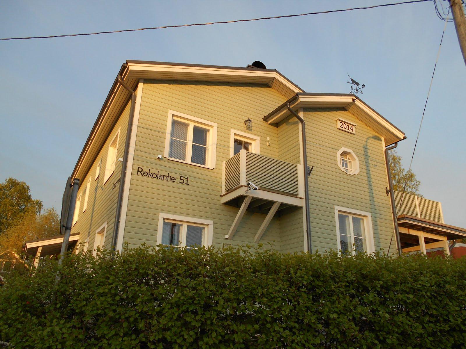 Talo Rautio: Julkisivu länteen