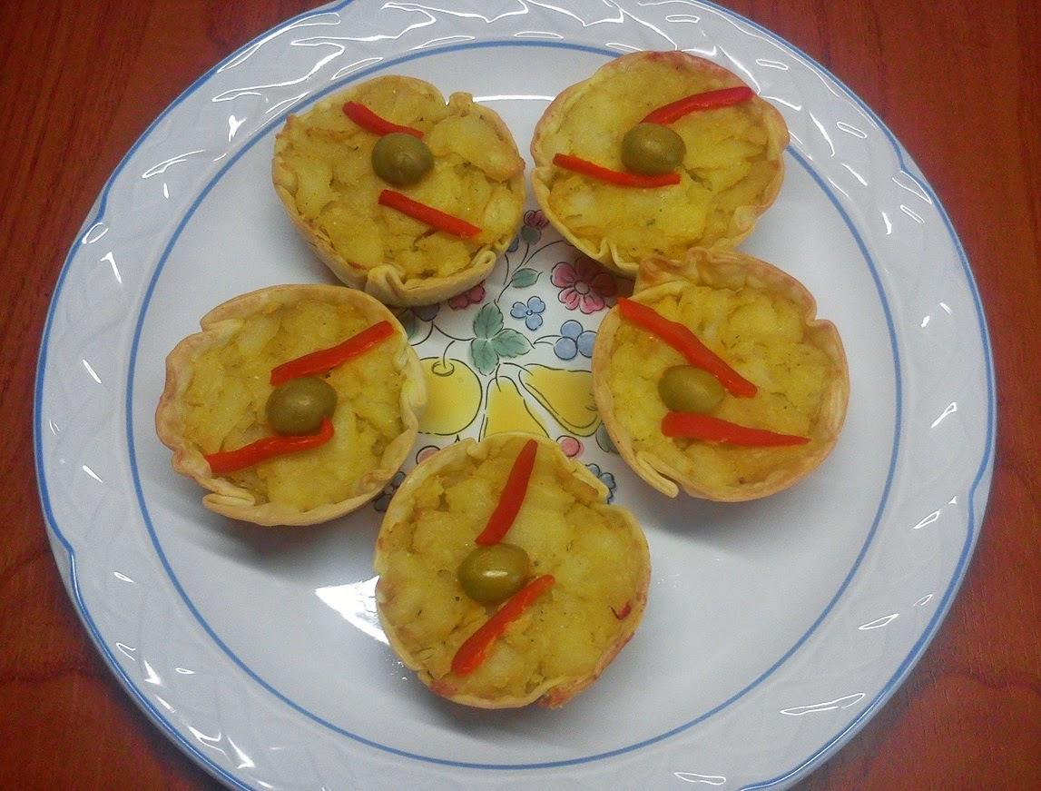Tartaletas de Tortilla con Sorpresa