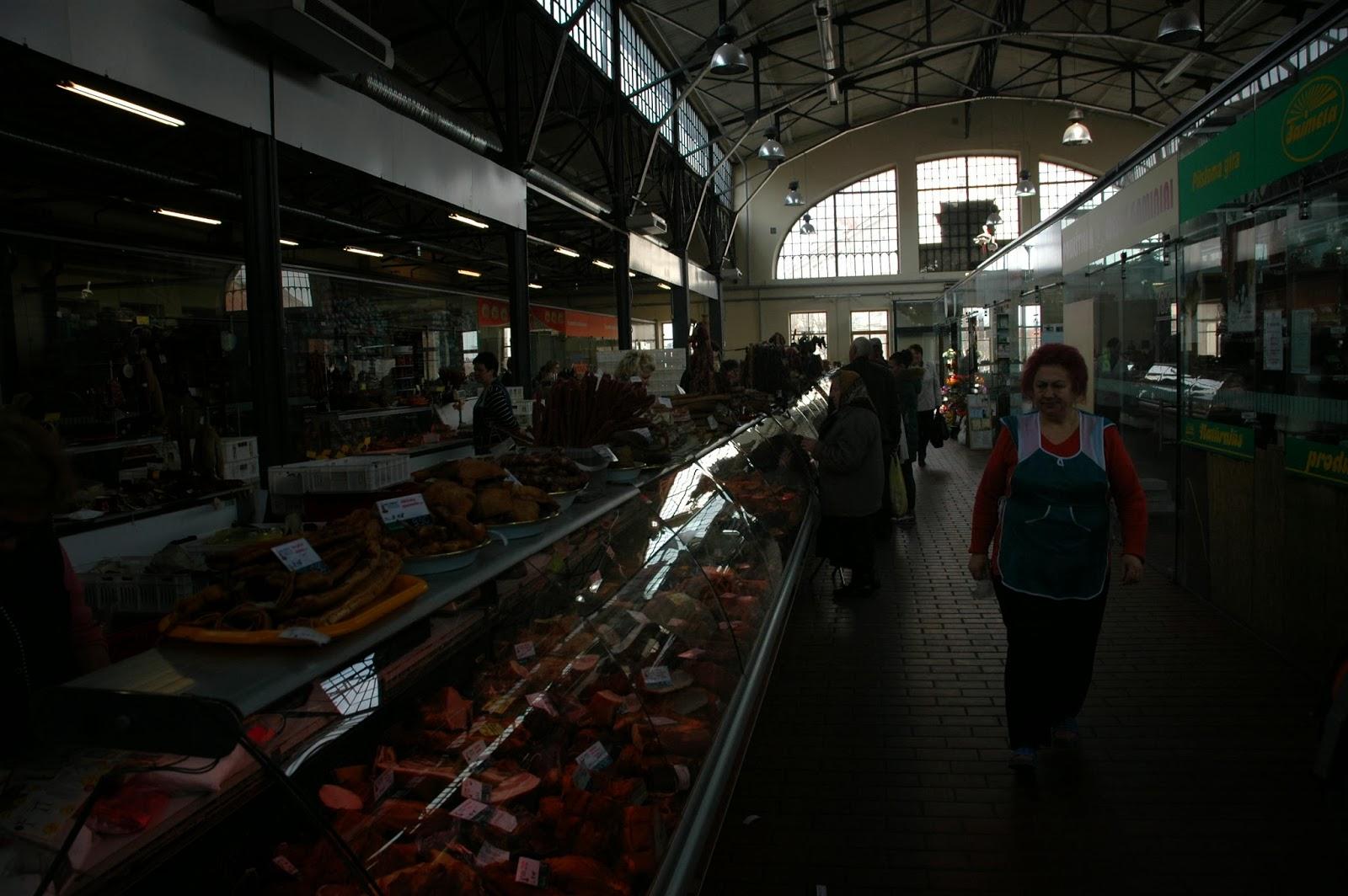 hala targowa w Wilnie