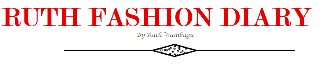 RUTH FASHION DIARY