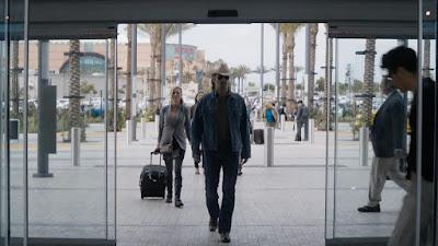 Colin Farrel in Anaheim for True Detective
