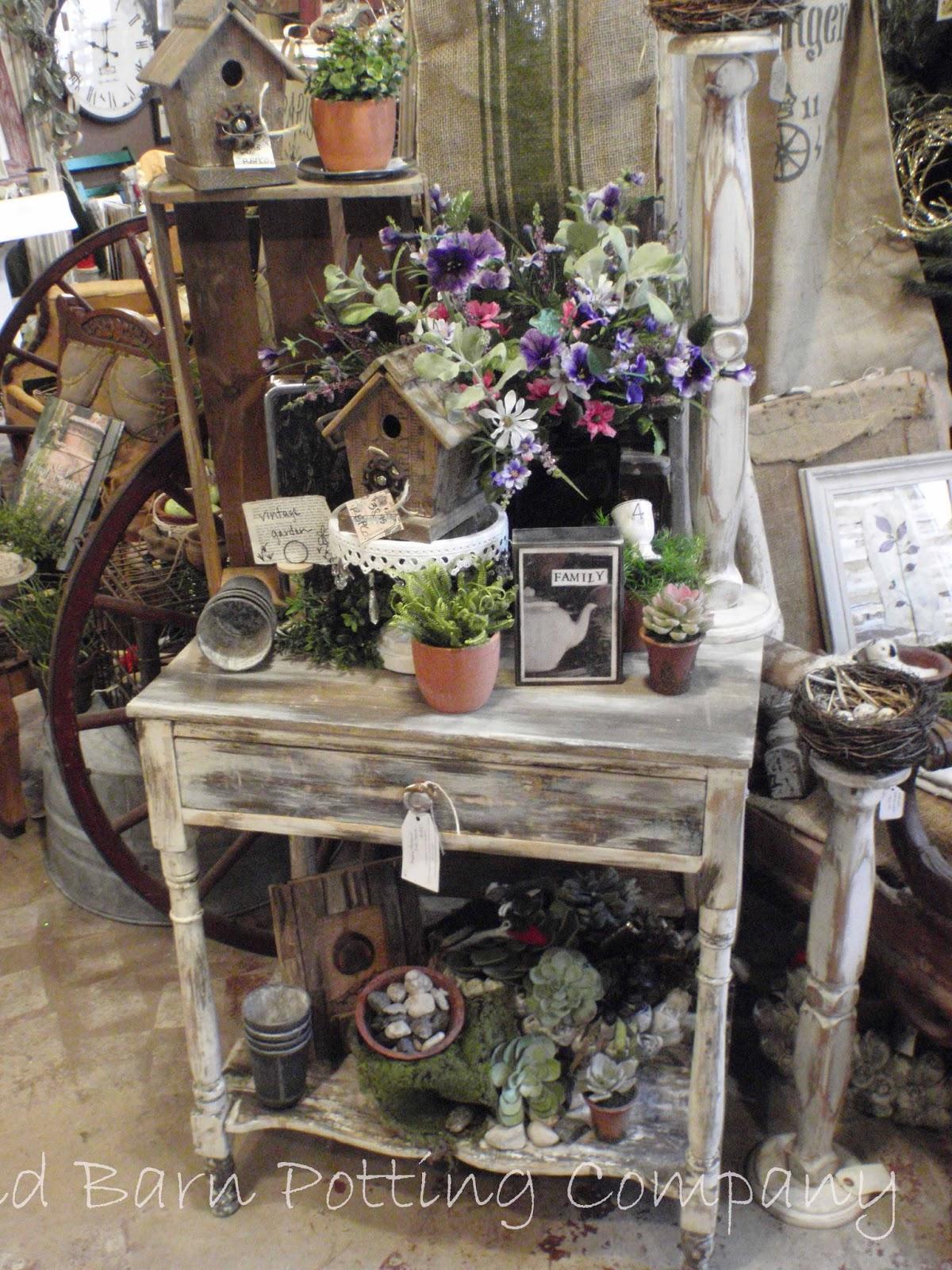 Lori Miller S Round Barn Potting Company Vintage Garden