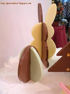 christmas food idea 3D chocolate