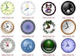 relojes para tu blog
