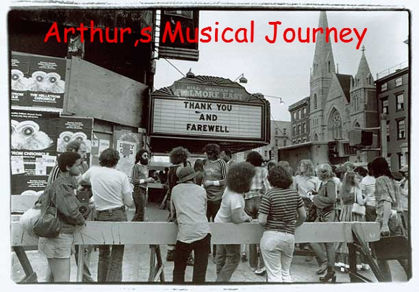 ARTHUR,S MUSICAL JOURNEY