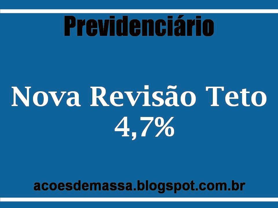 Revisão 4,7%