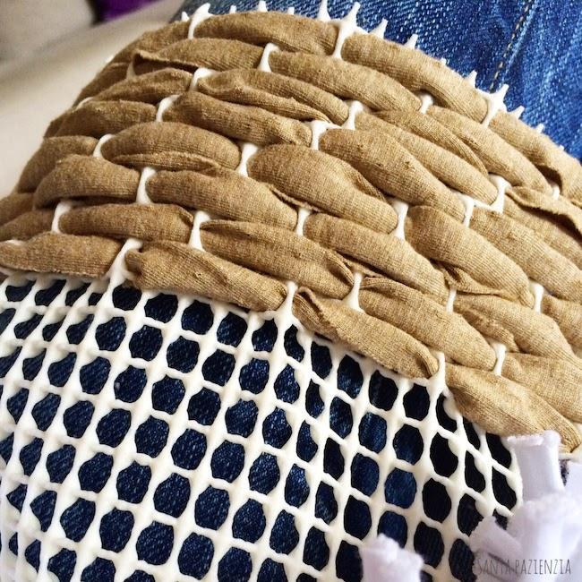 La alfombra de trapillo que no quiero que hagas santa - Alfombras de trapillo ...