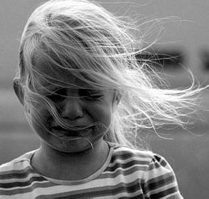 llanto de niña