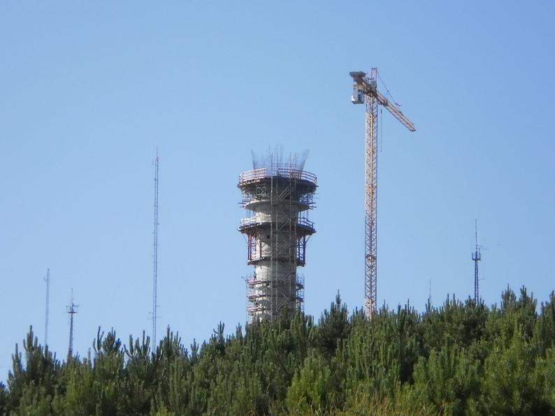 Radar de Meteorologia na Castanheira