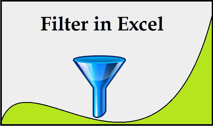 Filter in Excel