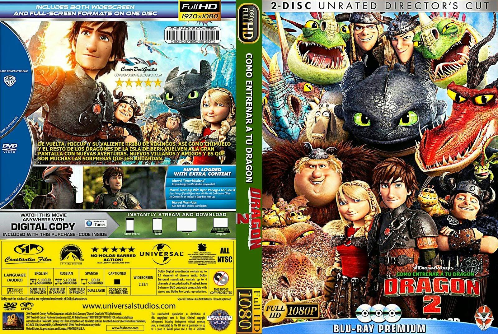 "How To Train Your Dragon 2 Dvd Cover CoverDvdGratis "":..."