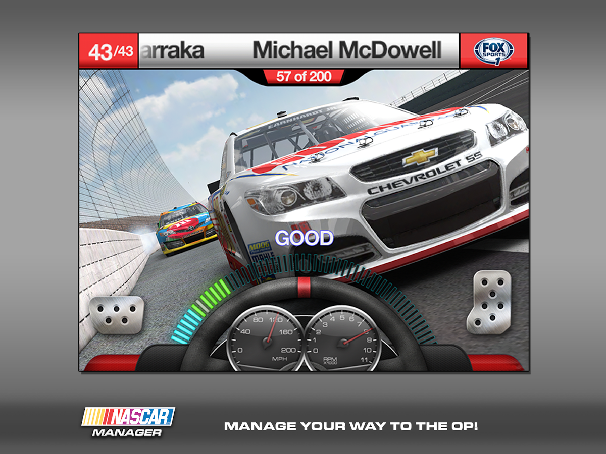 NASCAR Manager for Android 1.0.9