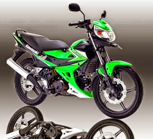 Kawasaki Athlete 125 Green