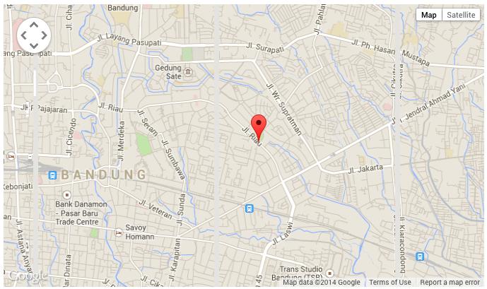 Lokasi Hotel Murah di Bandung