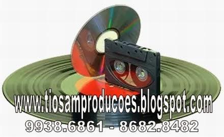 CONVERSÃO: LP`s e/ou FITAS K7 em CD