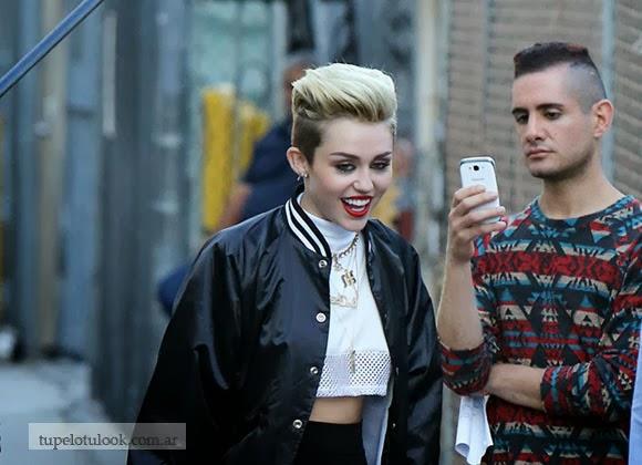 corte de pelo corto 2014 Miley Cyrus